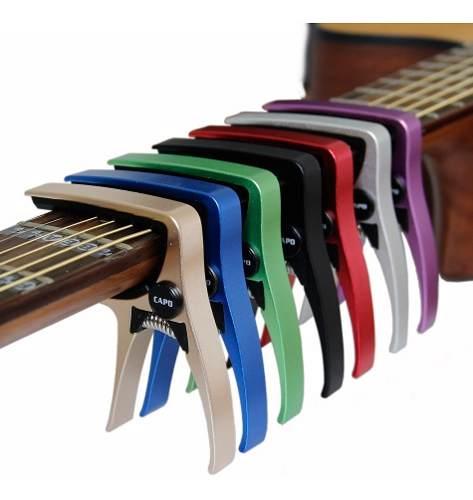 Capo Para Guitarra Acustica Y Electrica Aroma Colores