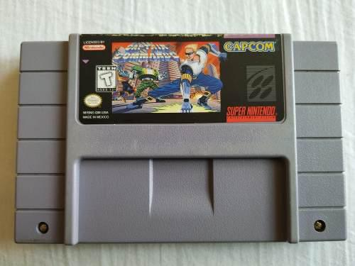 Captain Commando Snes Original, Buen Estado, Funciona Bien