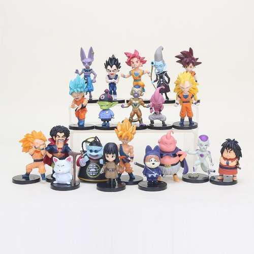 Dragon Ball Z Collection Miniatura Goku 20 Piezas Envío
