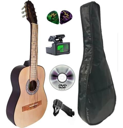 Guitarra Infantil Para Niño En Paquete Y Afinador
