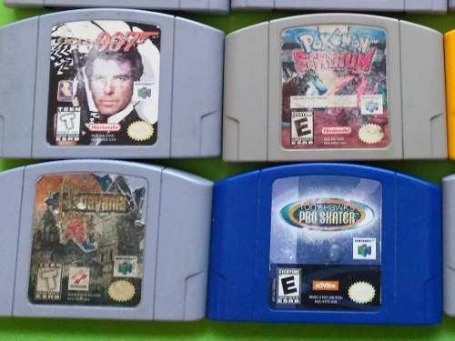 Lote De 4 Juegos Nintendo 64 Castlevania Goldeneye