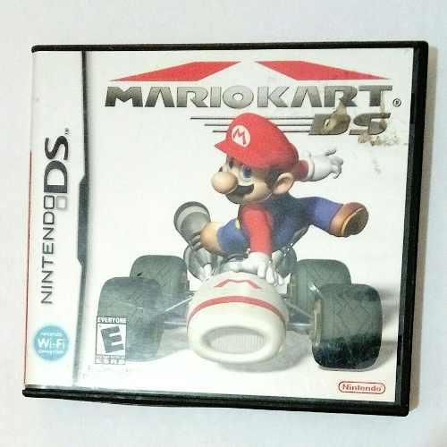 Mario Kart Nintendo Ds Solamente Caja Estuche Sin Juego