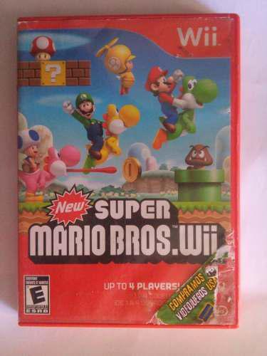 New Super Mario Bros Wii Nintendo Trqs Mario Peach Luigi