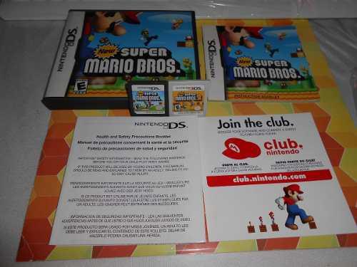 New Super Mario De Ds Y New Super Mario Bros 2,funcionan.