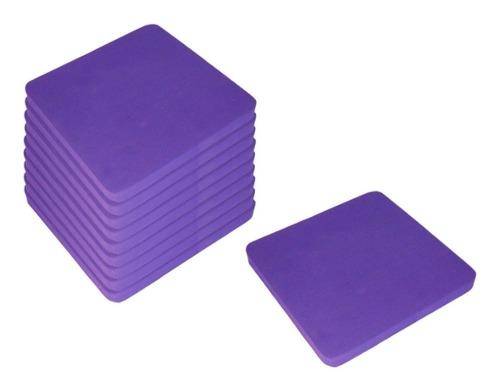 Pack 10 Pzas Bloque Equilibrio Yoga Apoyo Eva Fomi (50x50)