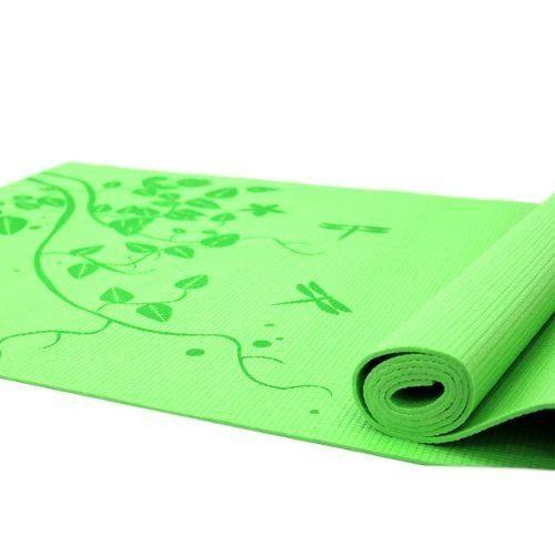 Set 6 Tapetes Para Yoga/pilates 6 Mm Fuxion Sports