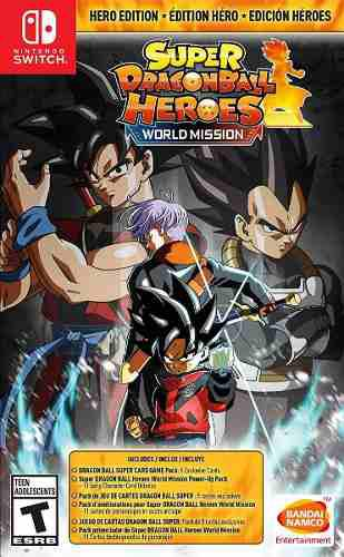 Super Dragon Ball Heroes Wold Mission Para Switch