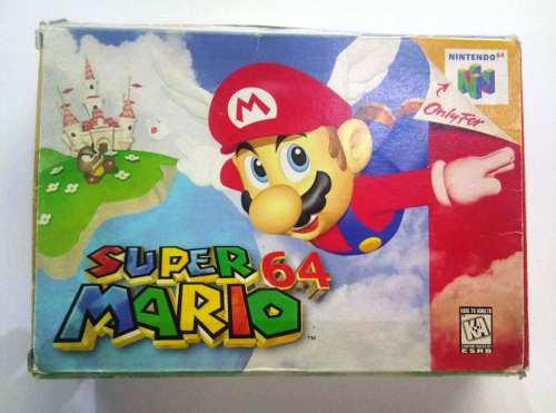 Super Mario 64 Nintendo 64 N64 Completo Retromex Tcvg