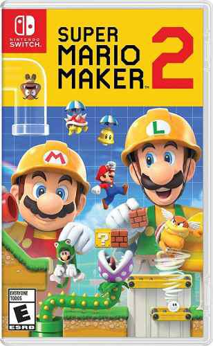 Super Mario Maker 2 Para Nintendo Switch Start Games A Meses