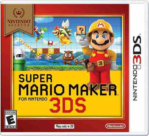 Super Mario Maker Selects. Para Nintendo 3ds En Start Games