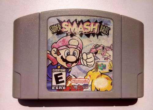 Super Smash Bros Nintendo 64 N64 Cartucho Retromex Tcvg