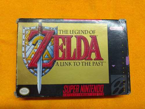 The Legend Of Zelda A Link To The Past Snes Completo