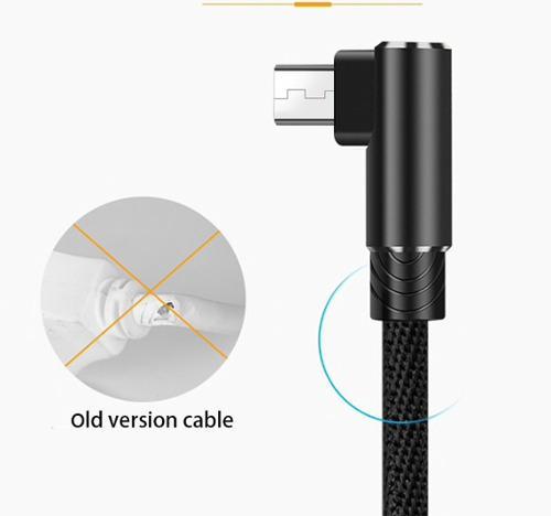 10 Cables V8 Android Micro Usb Uso Rudo Larga Vida En Caja