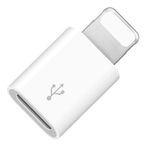 Adaptador Convertidor Micro Usb A iPhone iPod iPad