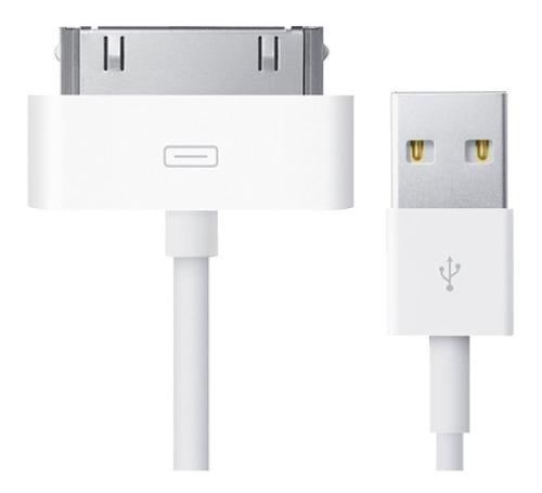Cable Carga Usb 30 Pines iPhone 4s 4 3g iPod iPad 1 2 3 Eg
