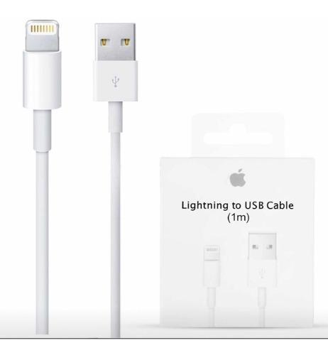 Cable Cargador Lightning Original 100% Usb Apple 5,6,7,8, X