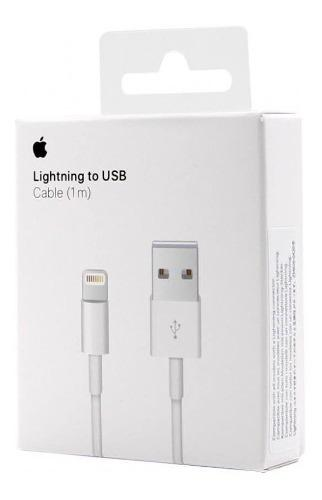 Cable Cargador Original Apple Lightning Usb iPhone 5 6 7 8 X