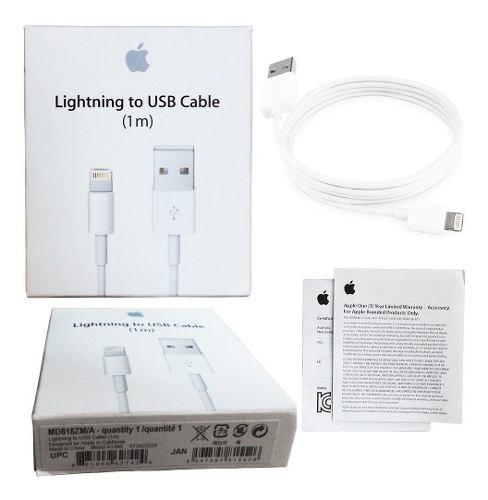 Cable Cargador Original Seriado Lightning iPhone 5,6,7,8 X