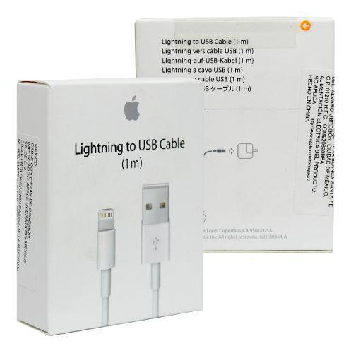 Cable Datos iPhone Lightning Original Apple Nuevo Sellado