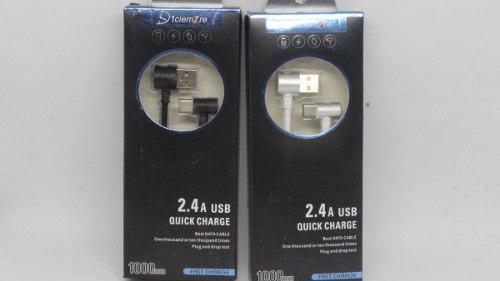 Cable De Carga Rapida 2.4 A Type C (mayoreo) Modelo Yw-09