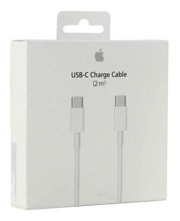 Cable De Carga Y Datos Usb-c 2 Metros Apple Original En Caja