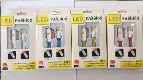 Cable Fashion iPhone 5 Al 10 Y iPad Colores