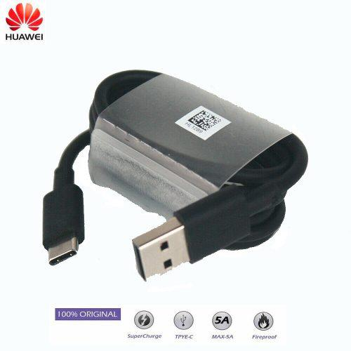 Cable Huawei Super Carga Tipo C /5a Original P20 Mate 10