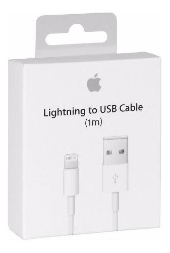 Cable Lightning 1m Apple Original iPhone 6 7 8 iPad Air iPod