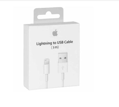 Cable Lightning Original Apple iPhone iPad iPod 1m 5,6,7,8 X