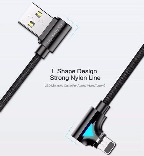 Cable Magnetico Cargador Micro Usb V8 iPhone Y Tipo C