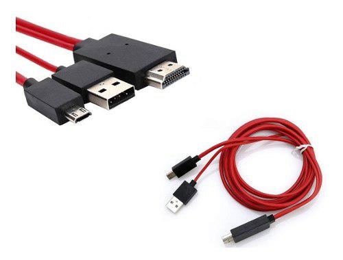 Cable Mhl Hdmi Galaxy S3 S4 S5 Note 2 Note 3 Nuevos!