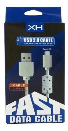 Cable Micro Usb Entrada Tipo C Para Carga Y Datos