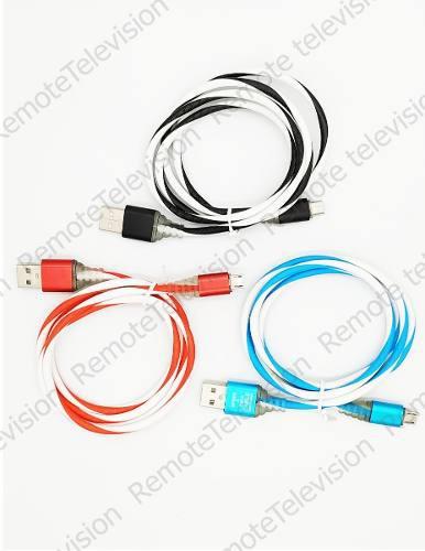 Cable Micro Usb V8 Reforzado Uso Rudo + Grueso Datos Y Carga