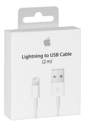 Cable Original 2m Lightning Usb Con Caja iPhone 5 6 7 iPad
