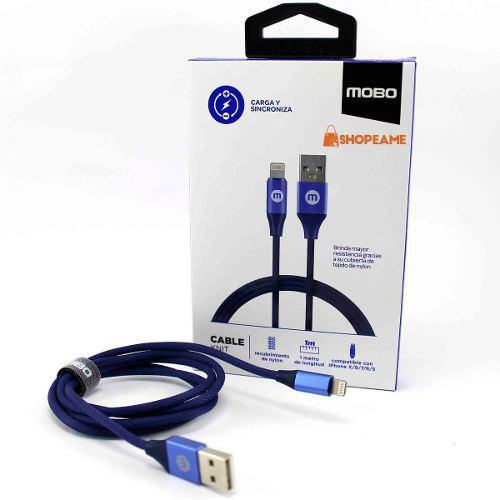 Cable Original Uso Rudo iPhone 7 8 Plus X Xs Max Carga Datos