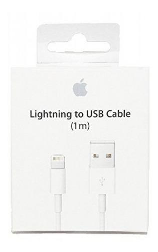 Cable Usb Cargador Original Lightning Apple iPhone iPad Xmax