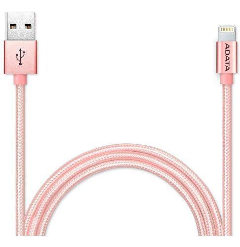 Cable Usb Lightning Adata iPhone Aluminio Carga Rapida 1mt