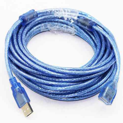 Extencion Cable Usb 5 Metros Macho-hembra Laptop Impresora