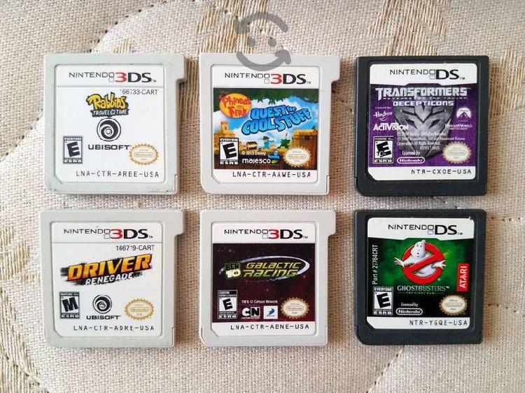 Juegos de 3DS sin Caja