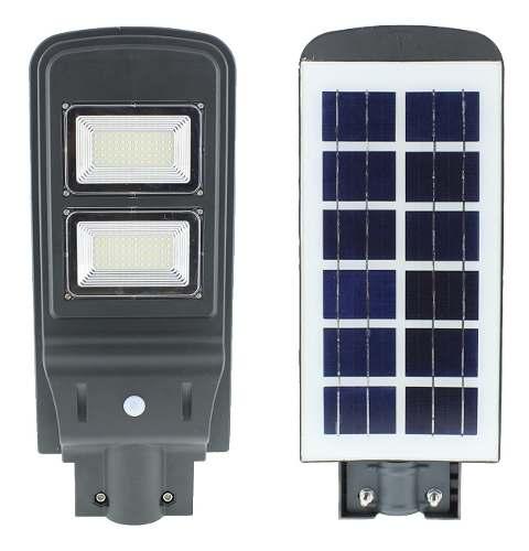 Lampara Led 40w Solar Con Sensor Movimiento All In One