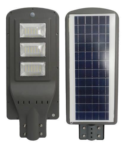 Lampara Led 60w Panel Solar Alumbrado Publico Envio Gratis