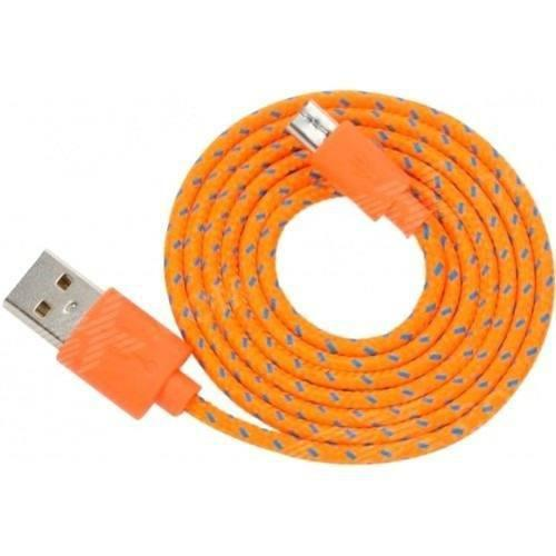Lote 10 Cable Cargador Reforzado Micro Usb V8 Varios Colores