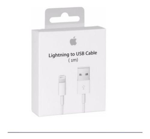 Lote Con 10 Cables Cargador Lightning For iPhone 6,7,8 X Off