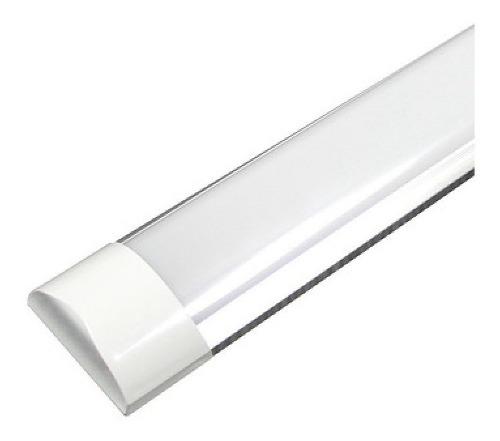 Paq 10 Tubos Led Doble Ancho 36w 120 Aluminio