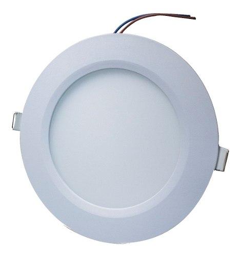 Plafon Led 12w Spot Bote 12 Cm Luz Blanca O Calida
