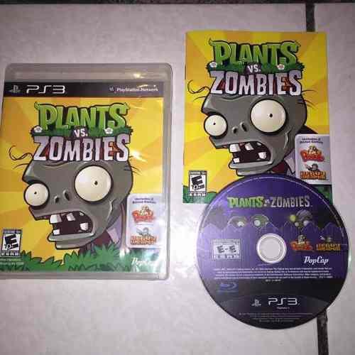 Plantas Vs Zombies Juegazo Completo Para Tu Ps3 Chécalo
