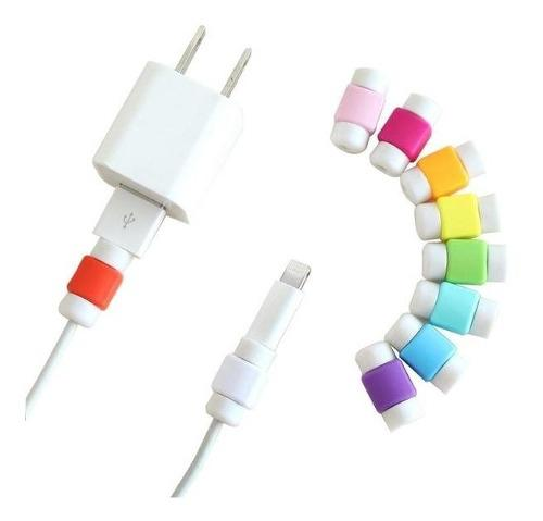 Protector Cable Para iPhone O iPad Lote 500 Pzas Mayoreo
