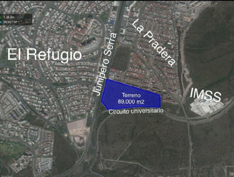 Terreno en venta en Anillo Vial Junípero Serra, Queretaro