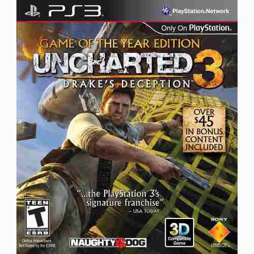 Uncharted 3 Game Of The Year Edition Ps3