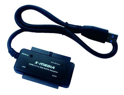 X-media Cable Adaptador Convertidor Usb 3.0 Sata Ide Ub3235s
